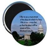 "National Pride 2.25"" Magnet (10 Pack) Magnets"