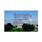 National Pride 35x21 Wall Decal