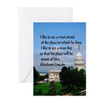 National Pride Greeting Cards (pk Of 10)