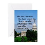 National Pride Card Greeting Cards