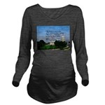 National Pride Long Sleeve Maternity T-Shirt