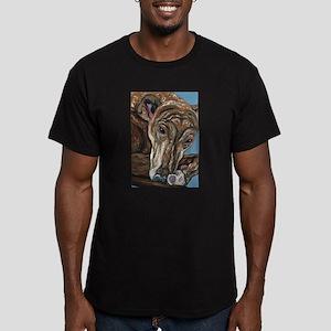 Brindle Greyhound T-Shirt