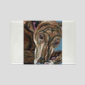 Brindle Greyhound Magnets