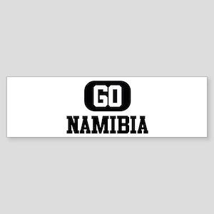 GO NAMIBIA Bumper Sticker