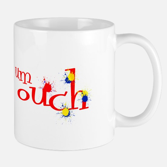um ouch paintball Mugs
