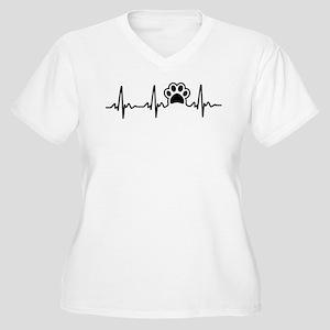 Paw Lifeline Plus Size T-Shirt