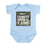 My Favorite Color Is Camo Body Suit