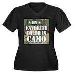 My Favorite Color Is Camo Plus Size T-Shirt