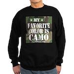 My Favorite Color Is Camo Sweatshirt