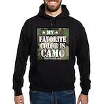 My Favorite Color Is Camo Hoodie