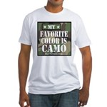 My Favorite Color Is Camo T-Shirt
