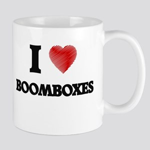 I Love BOOMBOXES Mugs