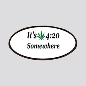 Its 420 Somewhere Patch