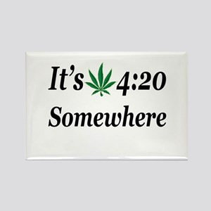 Its 420 Somewhere Magnets
