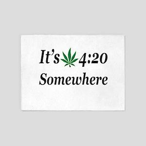 Its 420 Somewhere 5'x7'Area Rug