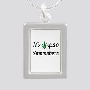 Its 420 Somewhere Necklaces