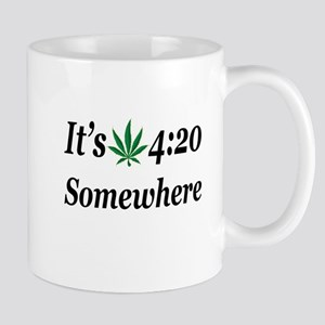 Its 420 Somewhere Mugs