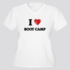 I Love BOOT CAMP Plus Size T-Shirt