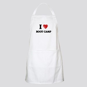 I Love BOOT CAMP Apron