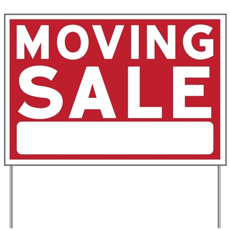 Moving Sale Sign Yard Sign By Admin Cp3083734