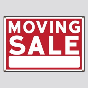 moving sale banners cafepress
