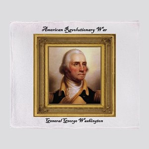 Gen. George Washington Throw Blanket