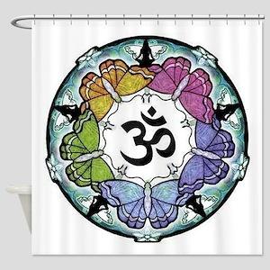 Yoga Mandala Shower Curtain