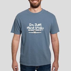 funny plane crazy airplane pilot design T-Shirt