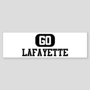GO LAFAYETTE Bumper Sticker