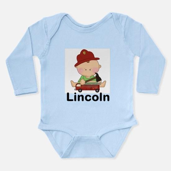 Lincoln's Long Sleeve Infant Bodysuit