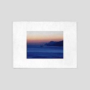 Capri Coast from Positano Italy 5'x7'Area Rug