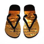 Love of Country Flip Flops