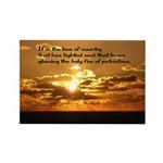 Love of Country Rectangle Magnet (100 pack)