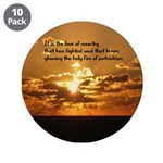 """Love Of Country 3.5"""" Button (10 Pack)"""