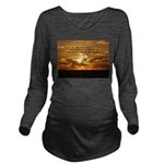 Love of Country Long Sleeve Maternity T-Shirt