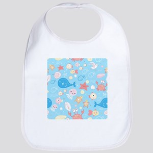 Cute Sea Life Bib