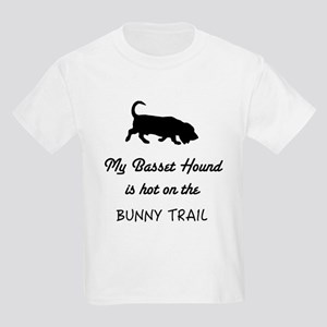 Basset Hound on the Bunny Trail T-Shirt