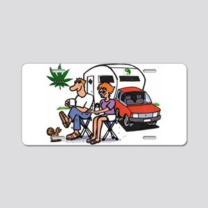 The Good Life Aluminum License Plate