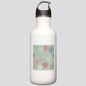 Vintage Hot Air Balloons Water Bottle