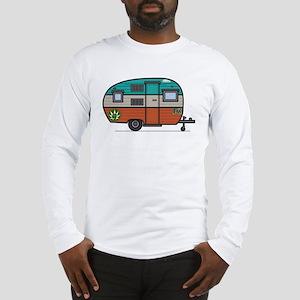 Vintage FAN Travel Trailer Long Sleeve T-Shirt