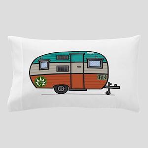 Vintage FAN Travel Trailer Pillow Case