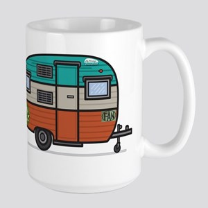 Vintage FAN Travel Trailer Mugs