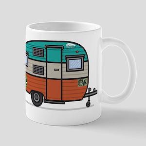 Vintage FAN Travel Trailer Mugs