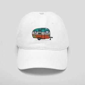 Vintage FAN Travel Trailer Baseball Cap