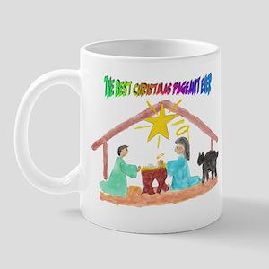 Christmas Pageant Manger Mug