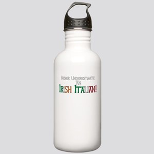 Never Underestimate Ir Stainless Water Bottle 1.0L