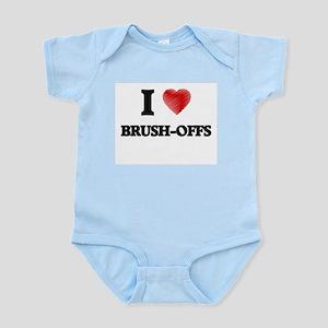 I Love BRUSH-OFFS Body Suit