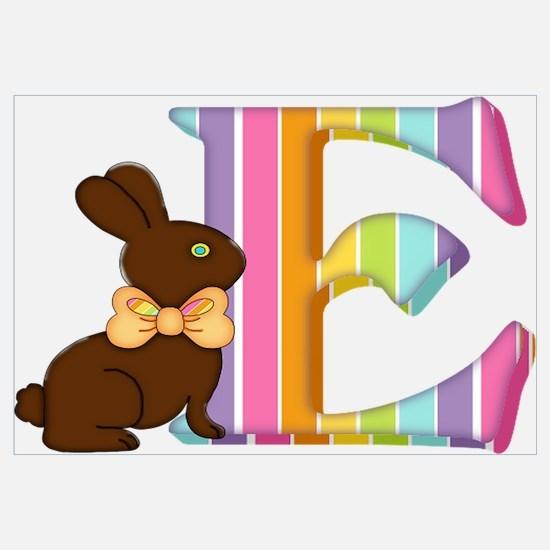 Cool Rabbit easter bunny chocolate make mine chocolate Wall Art
