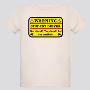 Warning Student Driver T-Shirt