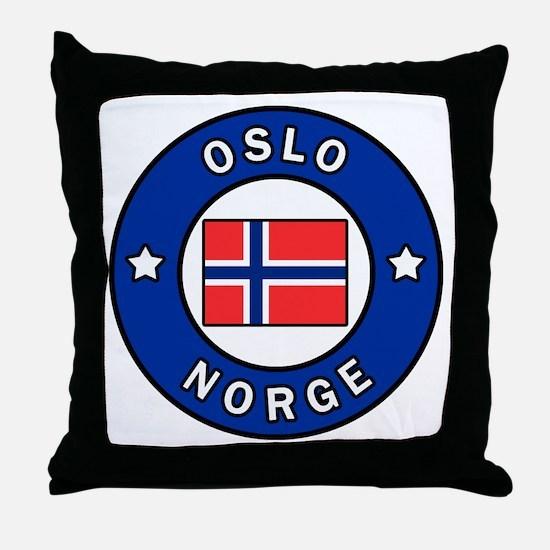Unique Norway Throw Pillow